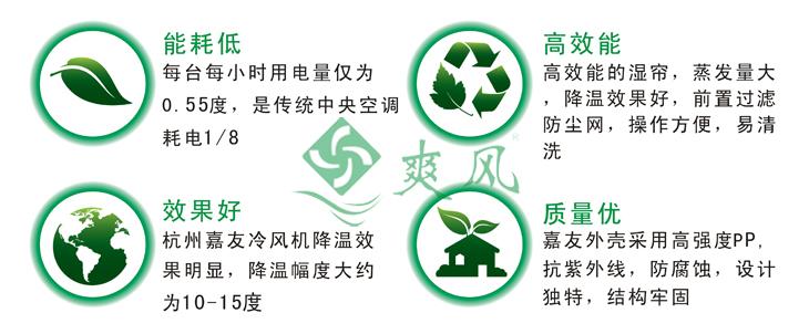 蒸发式冷风机/环保空调四大优势