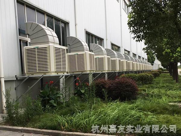天马轴承环保空调安装案例