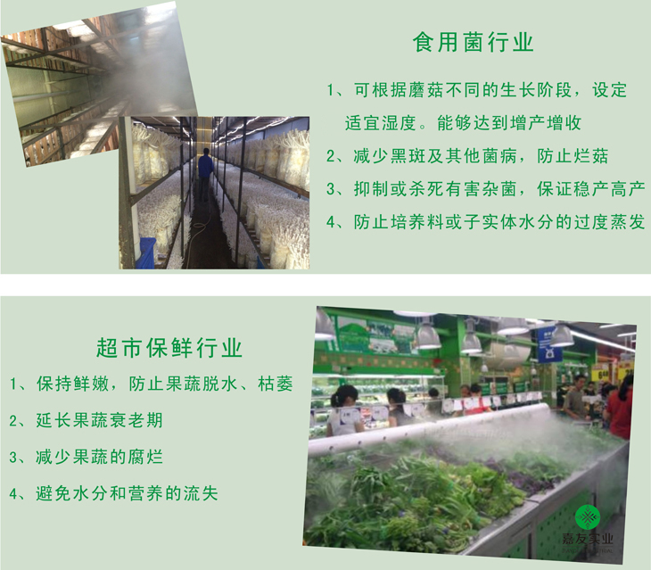 食用菌行业应用案例