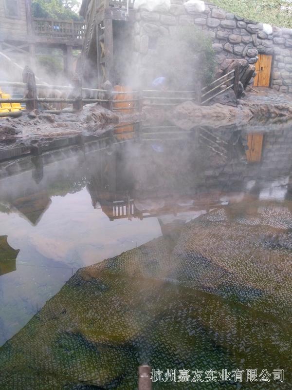 海洋公园喷雾降温造景设备