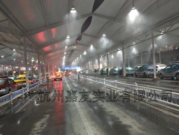 温州火车站喷雾降温系统