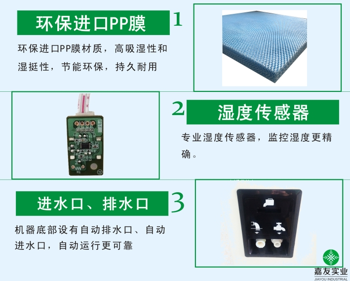 湿膜加湿器产品特性