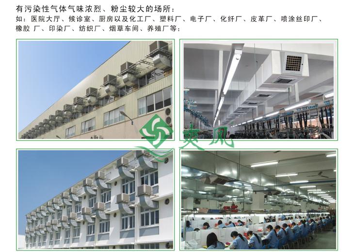 蒸发式冷风机/环保空调安装案例2