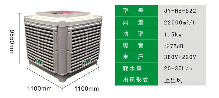 环保空调22000风量产品参数