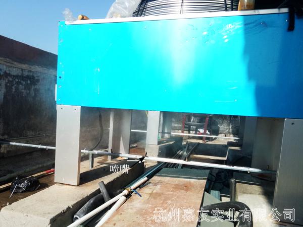 空调外机高压喷雾降温设备