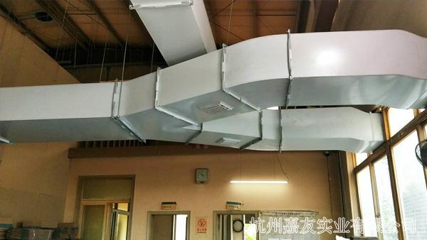 厂房降温风管图
