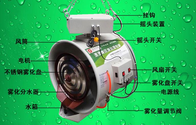 悬挂加湿器细节说明图