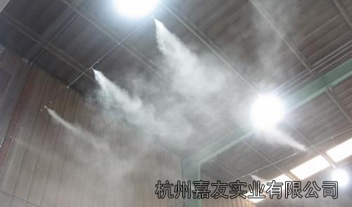 高压喷雾加湿器喷雾图片