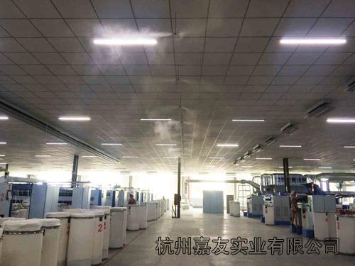 工业加湿器厂家产品应用
