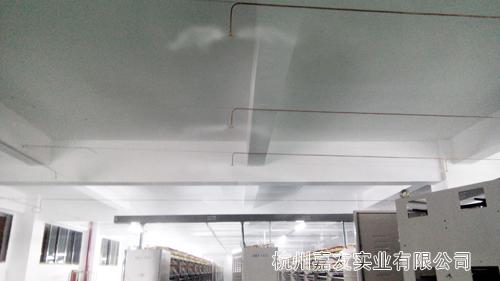 工业加湿器安装示意图