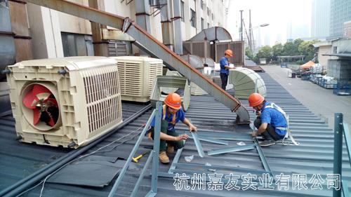 环保空调安装图