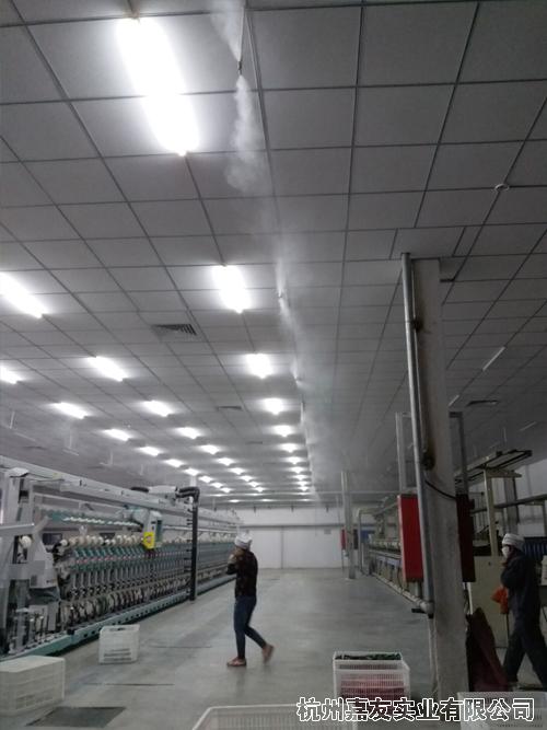 纺织高压微雾加湿器