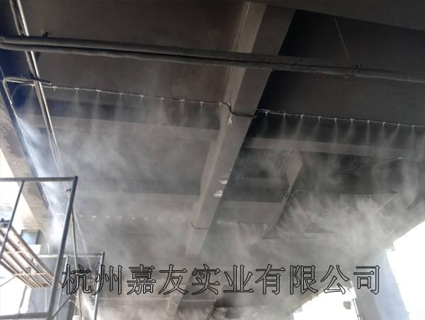 煤焦化公司卸煤车间高压喷雾除尘系统方案